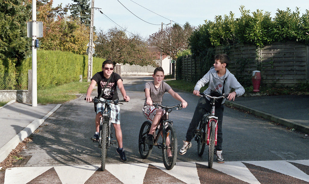 Antonin, Alexandre et Mathyas - Pont d'Ain